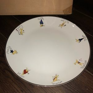 Pottery Barn Reindeer Cookie Plate